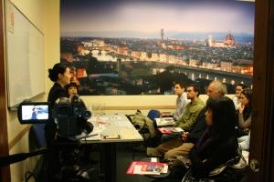 seminar at Scuola Toscana