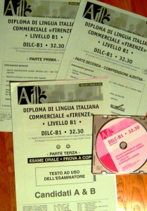The DILC Italian examination papers
