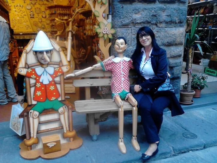 con Pinocchio,,, :-)