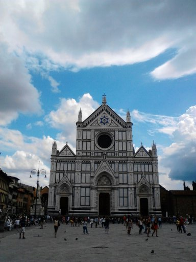 School of Italian in Piazza Santa Croce