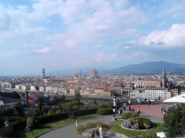 Piazzale Michelangelo - un spettacolo :)