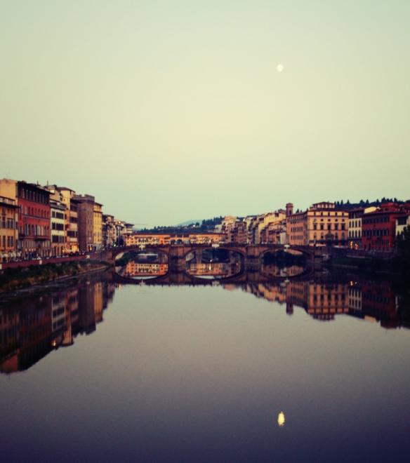 Taylor Davis Arno River Florence Italy