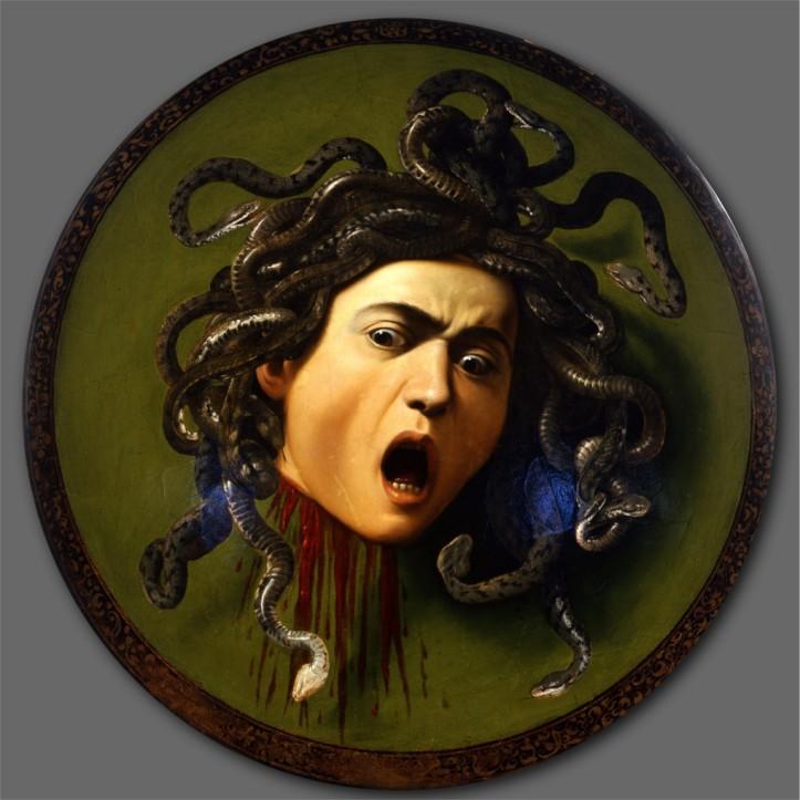 Scudo-con-testa-di-Medusa-di-Caravaggio-analisi-
