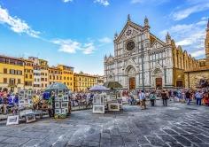 Piazza-Santa-Croce-bilder