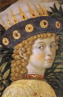 Benozzo-Gozzoli-Cappella-dei-Magi-Lorenzo-de-Medici-ritratto-giovanile